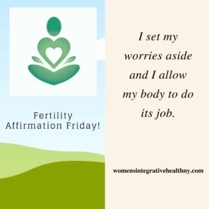 fertility affirmations